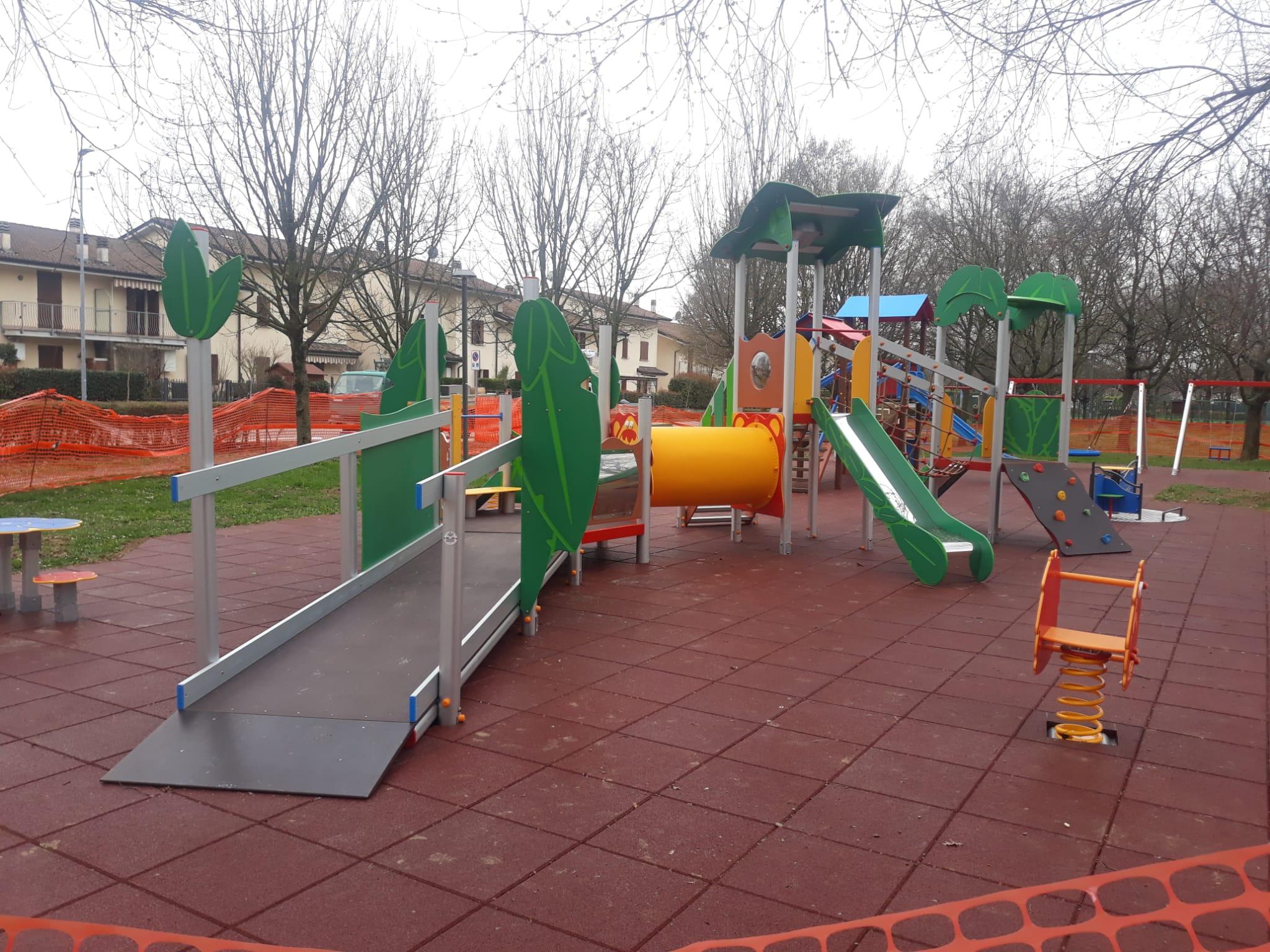 Parco Giochi a San Giorgio Bigarello