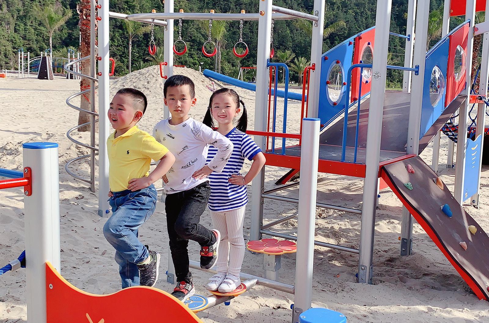 Parchi giochi Pozza in Cina, Oggi